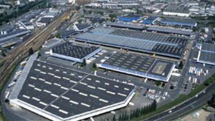 La plate-forme Sogaris du sud de Paris dédiée au transport et à la logistique urbaine.