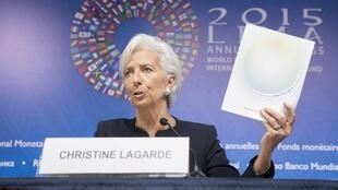 Christine Lagarde, directora do FMI.