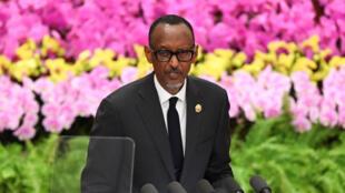 Paul Kagame Shugaban Rwanda kuma Shugaba kungiyar Afirka ta AU