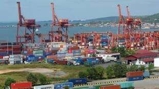 Cảng Sihanoukville, Cam Bốt. Ảnh chụp ngày 14/12/2018.