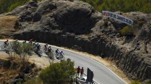 Segunda etapa de la Vuelta a España, este 23 de agosto de 2015.