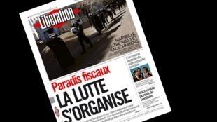 Capa do jornal francês Libération desta terça-feira, 10 de fevereiro de 2015.