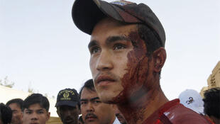 A Hazara who helped take victims of the shooting to hospital