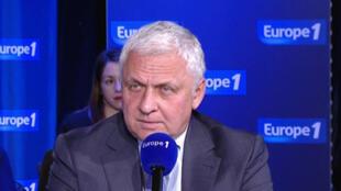 Russian ambassador to France Alexander Orlov