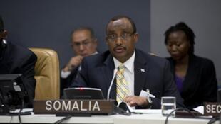 Somali Prime minister Abdulwel Ali