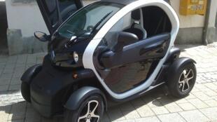 Twizy é um dos modelos elétricos da Renault.