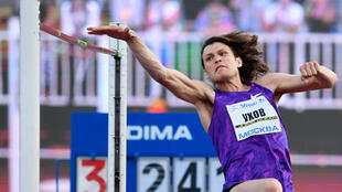 Ivan Ukhov won the gold medal at the 2012 London Olympics in the high jump