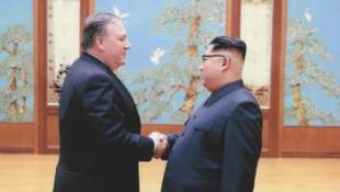 លោក Mike Pompeo និងលោក Kim Jong-un ជួបគ្នានៅទីក្រុងព្យុងយ៉ាង