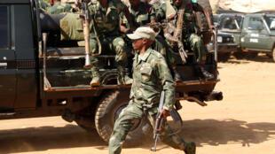 Les FARDC déployées à Beni dans l'est de la RDC.