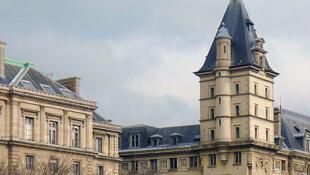 The police judiciaire headquarters at 36 Quai des Orfèvres, Paris