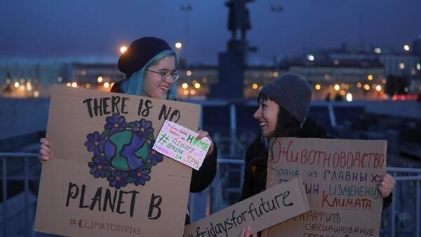 Глобальная климатическая забастовка в Санкт-Петербурге, 20 сентября 2019