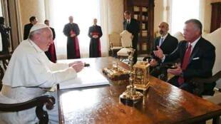 Fafaroma Francis a ganawarsu da Sarki Abdallah na Jordan kan birnin Kudus