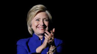 La ex secretaria de Estado norteamericana y candidata a la investidura demócrata, Hillary Clinton.