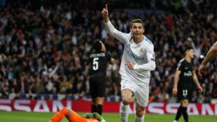 O português Cristiano Ronaldo, carrasco do clube francês em Madri.
