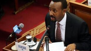 Abiy Ahmed, Primeiro-ministro da Etiópia.