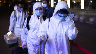 Wuhan protective suits