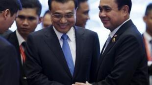 2015年11月25日中泰两国总理