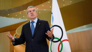 國際奧委會主席巴赫  資料照片
