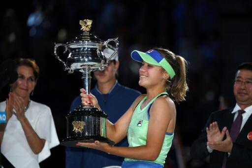 Simona Halep face à Garbine Muguruza en demi-finales — Open d'Australie