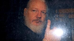 Julian Assange had been at the Ecuador embassy in central London for seven years.