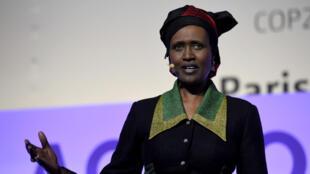 Winnie Byanyima, diretora-executiva da Oxfam Internacional. Foto de 5/12/15