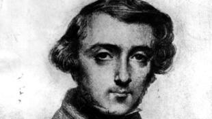 托克維爾肖像1839年