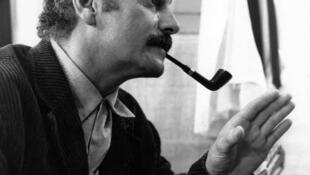 Georges Brassens en 1962.