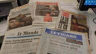 Diarios franceses  18.12.2018
