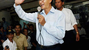 Sam Raisy, exiled opposition party leader