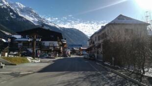 Contamines-Montjoie in the Savoie