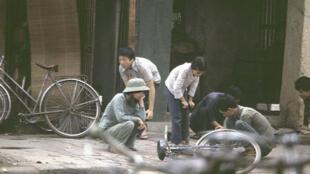 Hà Nội, năm 1982 - ảnh của nhà báo Michel Blanchard (DR)