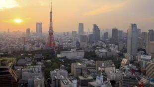 Vue générale de Tokyo la capitale du Japon (image d'illustration).