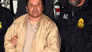 """O narcotraficante mexicano, Joaquin """"El Chapo"""" Guzman foi condenado a prisão perpétua por um tribunal norte-americano."""
