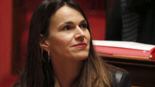 Former culture minister Aurélie Filippetti joiined Socialist rebels in abstaining on the social security budget
