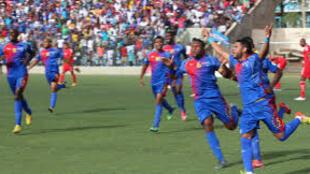 Selecção nacional de Futebol de Cabo Verde, numa das suas proezas, para o CAN 2017