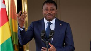 O Presidente do Togo, Faure Gnassingbé.2017.