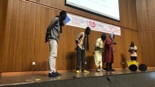 Théâtre Forum «Je m'acclimate donc je suis», pièce jouée à l'IRD, à l'occasion du colloque Sciences Ouvertes au sud, en octobre à Dakar.