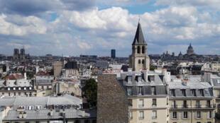 El barrio Saint-Germain-des-Près, en París.