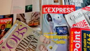 Capas de magazines news franceses de 13 de fevereiro de 2016