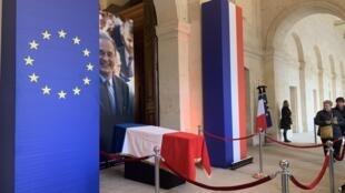 L'hommage à Jacques Chirac aux Invalides, le 29 septembre 2019.