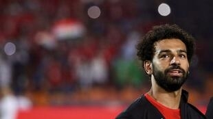 Egypt striker Mo Salah fas scored in successive games to help his side into the last 16.