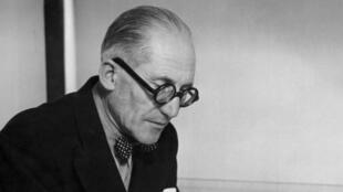 Photo datée de 1961 de Charles-Edouard Jeanneret, dit «Le Corbusier».