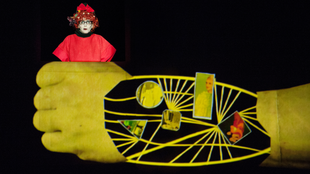 'Golem' is on stage at Théâtre des Abbesses in Paris