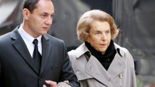 Liliane Bettencourt em Paris, no dia 6 de julho de 2007.