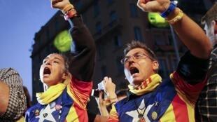 Nacionalistas vencem eleições na Catalunha