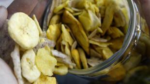 Chips de bananes.