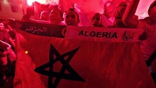 Algeria fans after match against Russia, Marseille 26 June, 2014