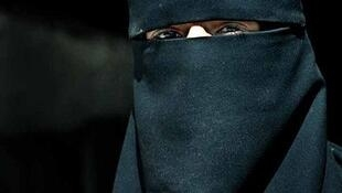 A woman wearing niqab in Yemen
