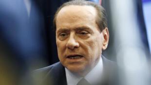 Silvio Berlusconi,  primeiro-ministro italiano