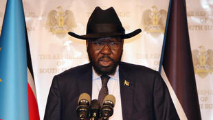 Rais wa Sudani Kusini Salva Kiir ambaye alifanya ziara nchini Sudani Kharthoum